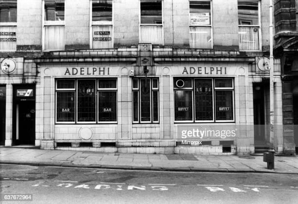 Adelphi Hotel, Public House, Shakespeare Street, Newcastle, 12th March 1985.