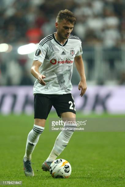 Adem Ljajic of Besiktas in action during the UEFA Europa League group K match between Besiktas and Wolverhampton Wanderers at Vodafone Park on...