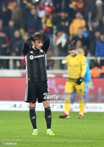 Adem Ljajic of Besiktas in action during Turkish Super Lig soccer match between Evkur Yeni Malatyaspor and Besiktas at Yeni Malatya Stadium in...