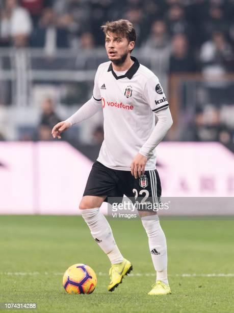Adem Ljajic of Besiktas JK during the Turkish Spor Toto Super Lig football match between Besiktas JK and Trabzonspor AS on December 16 2018 at the...