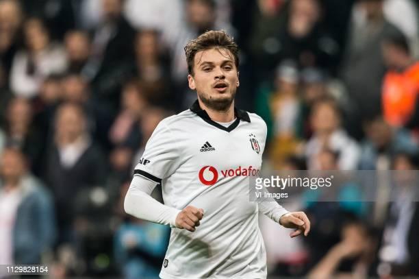 Adem Ljajic of Besiktas JK during the Turkish Spor Toto Super Lig football match between Besiktas JK and Atiker Konyaspor on March 10 2019 at the...