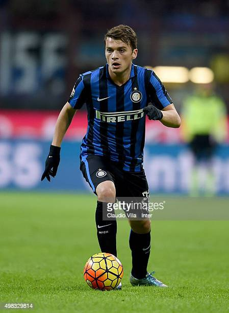 Adem Ljajic of FC Internazionale in action during the Serie A match between FC Internazionale Milano and Frosinone Calcio at Stadio Giuseppe Meazza...