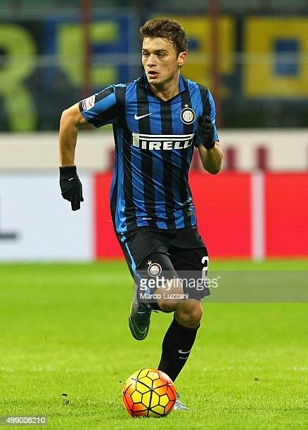 Adem Ljajic of FC Internazionale Milano in action during the Serie A match between FC Internazionale Milano and Frosinone Calcio at Stadio Giuseppe...