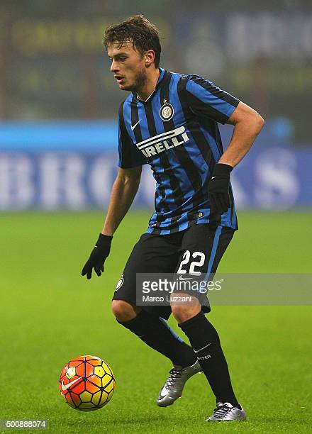 Adem Ljajic of FC Internazionale Milano in action during the Serie A match between FC Internazionale Milano and Genoa CFC at Stadio Giuseppe Meazza...