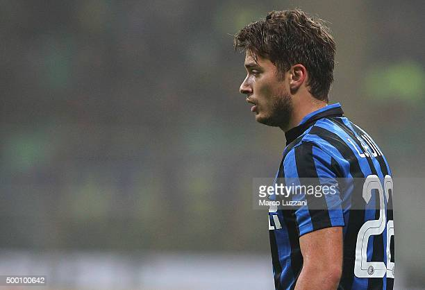 Adem Ljajic of FC Internazionale Milano looks on during the Serie A match between FC Internazionale Milano and Genoa CFC at Stadio Giuseppe Meazza on...