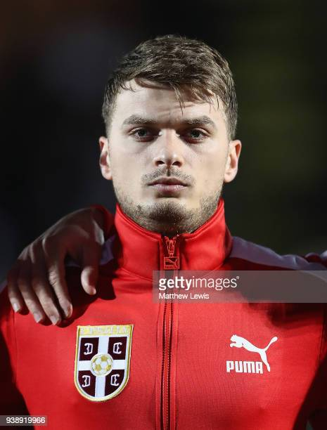 Adem Ljajic of Serbia pictured ahead of the International Friendly match between Nigeria and Serbia at The Hive on March 27 2018 in Barnet England