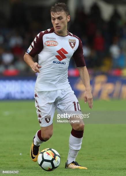Adem Ljajic of Torino during the Serie A match between Benevento Calcio and Torino FC at Stadio Ciro Vigorito on September 10 2017 in Benevento Italy