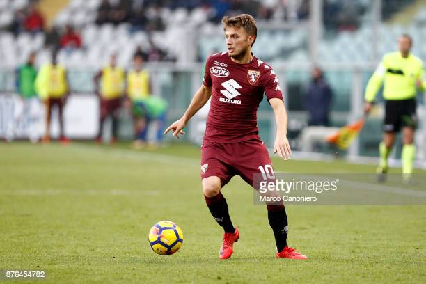 Adem Ljajic of Torino FC in action during the Serie A football match between Torino Fc and Ac Chievo Verona . The match ended in a 1-1 tie.