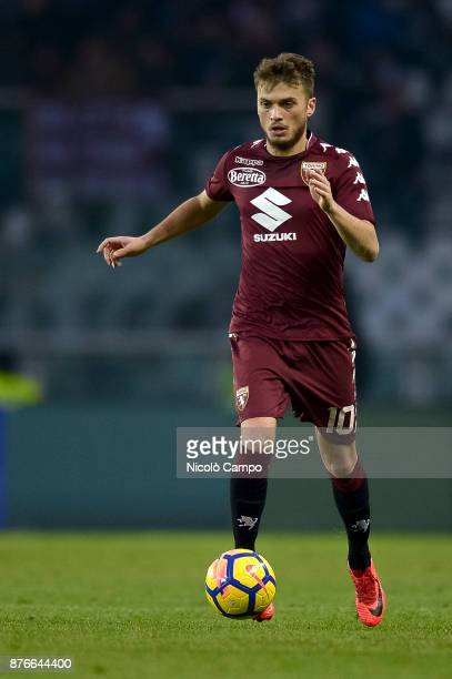 Adem Ljajic of Torino FC in action during the Serie A football match between Torino FC and AC ChievoVerona The match ended in a 11 tie