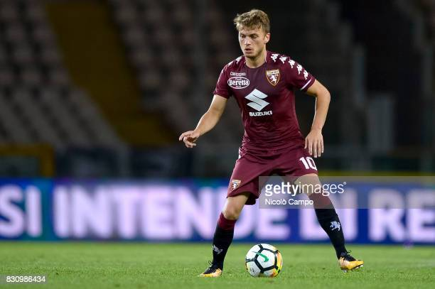 Adem Ljajic of Torino FC in action during the TIM Cup football match between Torino FC and Trapani Calcio Torino FC wins 71 over Trapani Calcio