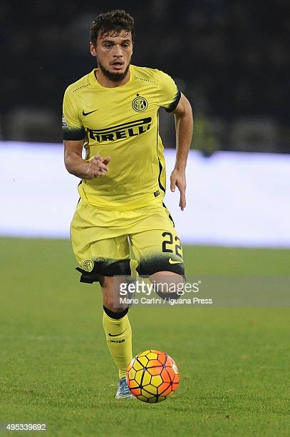 Adem Ljajjic of Internazionale Milano in action during the Serie A match between Bologna FC and FC Internazionale Milano at Stadio Renato Dall'Ara on...
