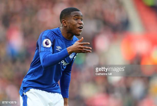 Ademola Lookman of Everton during the Premier League match between Southampton and Everton at St Mary's Stadium on November 26 2017 in Southampton...