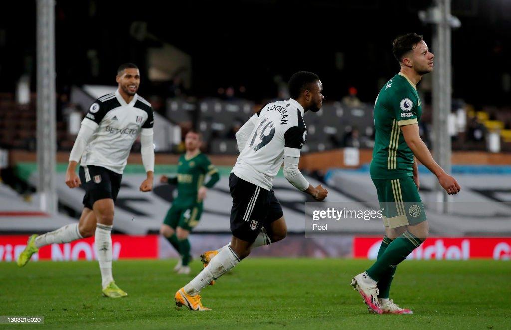 Fulham v Sheffield United - Premier League : News Photo