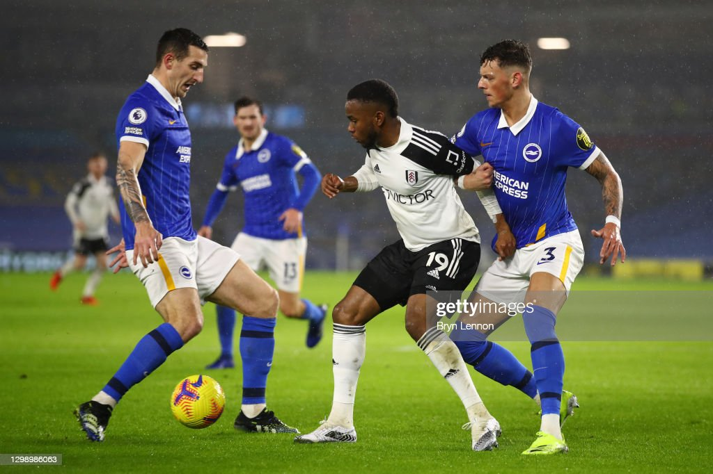 Brighton & Hove Albion v Fulham - Premier League : News Photo