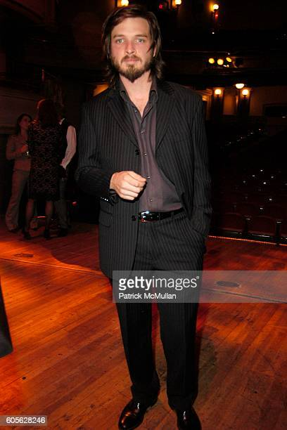 Aden Young attends Hedda Gabler Benefit for BAM and Sydney Theatre Company Dessert Reception at Howard Gilman Opera House on February 28 2006 in...