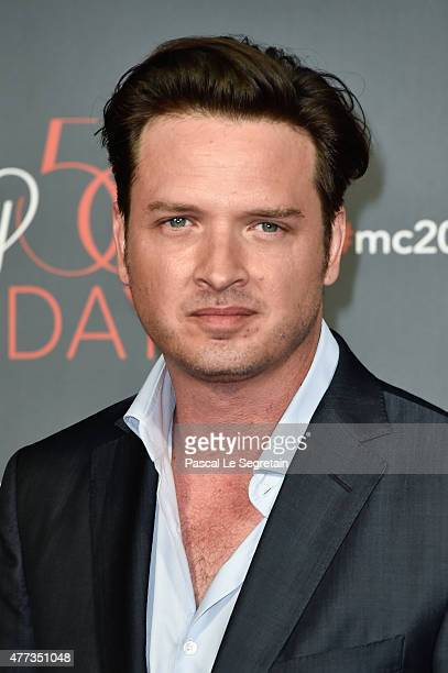 Aden Young attends the 55th Monte Carlo Beach anniversary as part of Monte Carlo TV Festival on June 16 2015 in MonteCarlo Monaco