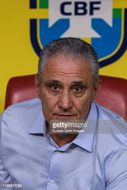 Adenor Bacchi Brazil Head Coach during the match between Brazil and Korea Republic on November 19, 2019 at Mohammed Bin Zayed Stadium in Abu Dhabi,...