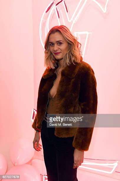 Adenorah attends the YSL Beauty Club party hosted by YSL Beauty and Victor Demarchelier on December 1 2016 in London England