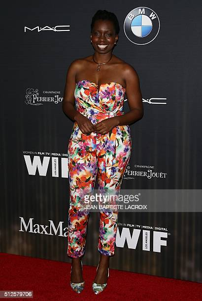 81dab7462dd4 Adepero Oduye attends the Ninth Annual Women In Film PreOscar Cocktail  Party in Hollywood California on