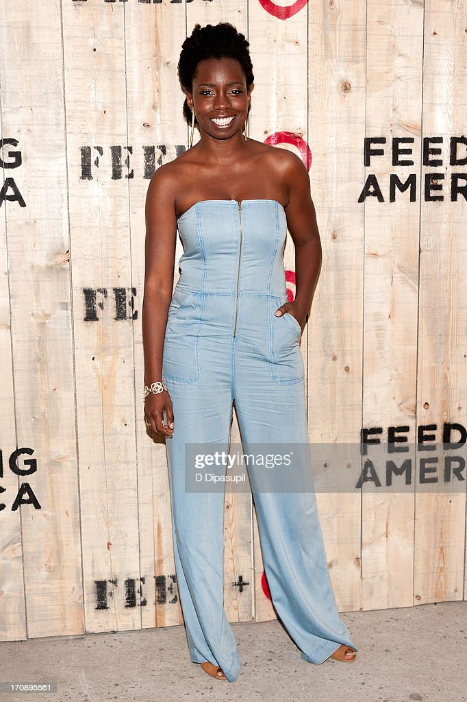 Adepero Oduye attends the Target FEED Collaboration launch at Brooklyn Bridge Park on June 19, 2013 in New York City.