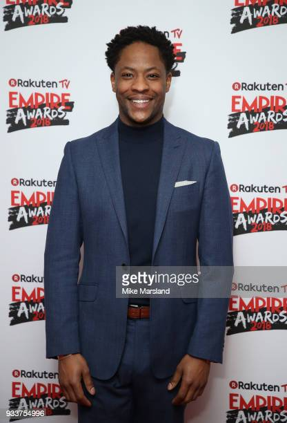 Adetomiwa Edun attends the Rakuten TV EMPIRE Awards 2018 at The Roundhouse on March 18 2018 in London England