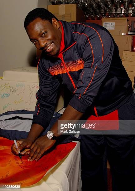 Adewale AkinnuoyeAgbaje during 2007 Park City Backstage Creations Retreat at the Premiere Film Music Lounge on Main Street Day 4 at Premiere Lounge...