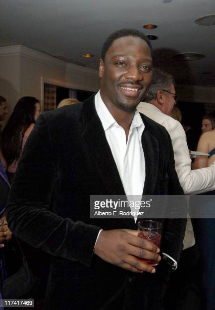 Adewale AkinnuoyeAgbaje during Fox Searchlight's 2007 Golden Globe After Party in Los Angeles California United States