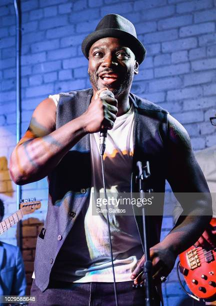 Adewale AkinnuoyeAgbaje performs onstage at Farming cocktail party hosted by RBC at RBC House Toronto Film Festival 2018 on September 8 2018 in...