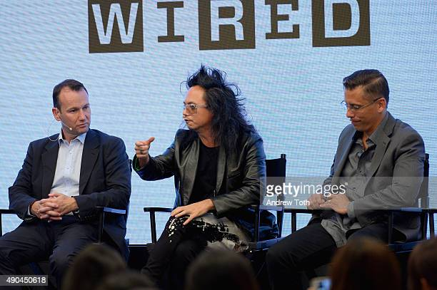 """Adform Chief Strategy Officer Anthony Rhind, AOL Digital Prophet David Ching, and PwC Digital Principal John Swadener speak onstage at the """"Wired..."""