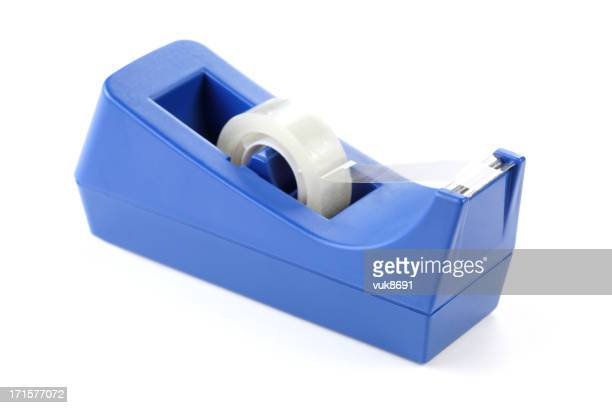 adhesive tape - tape dispenser stock photos and pictures