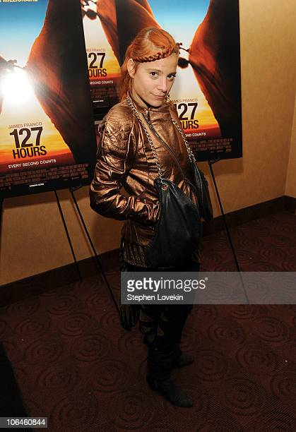 Adi Gil attends the New York premiere of 127 Hours at Chelsea Clearview Cinema on November 2 2010 in New York City