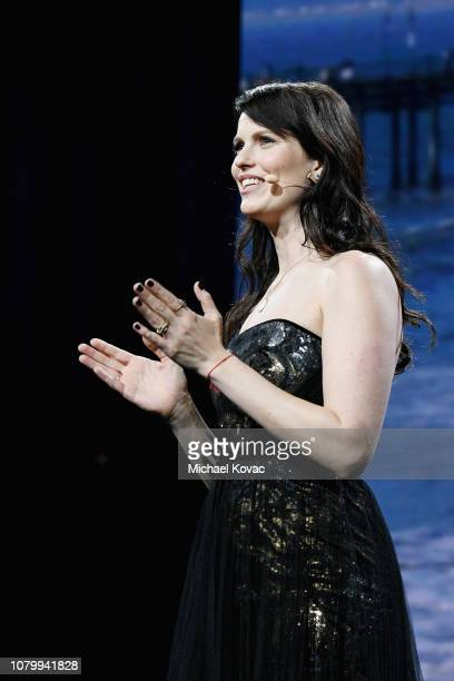 Adi Neumann speaks onstage during WeWork Presents Second Annual Creator Global Finals at Microsoft Theater on January 9 2019 in Los Angeles California