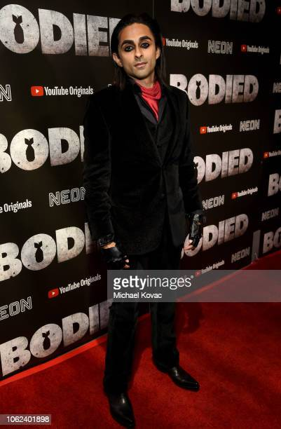 Adi Shankar attends the Los Angeles Premiere For YouTube Premium And Neon's Bodied on November 01 2018 in Hollywood California