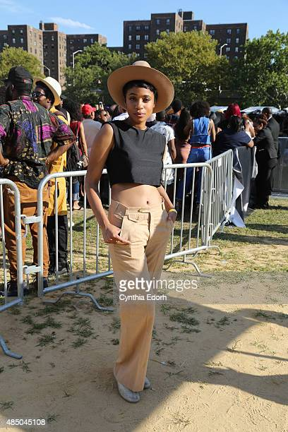 Adia Victoria attends Afropunk Fest at Commodore Barry Park on August 22 2015 in Brooklyn New York
