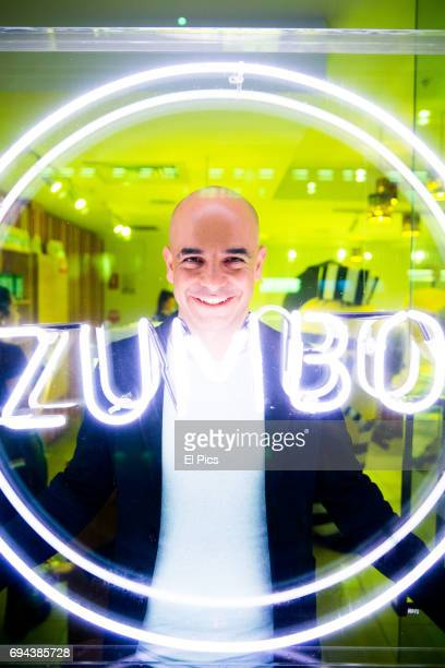 Adiano Zumbo poses for a portrait at his Circular Quay store on June 9 2017 in Sydney Australia