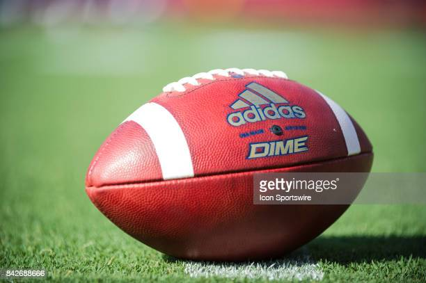 Adidas Dime football during the college football game between UC Davis Aggies and San Diego State University Aztecs on September 02 2017 at Qualcomm...