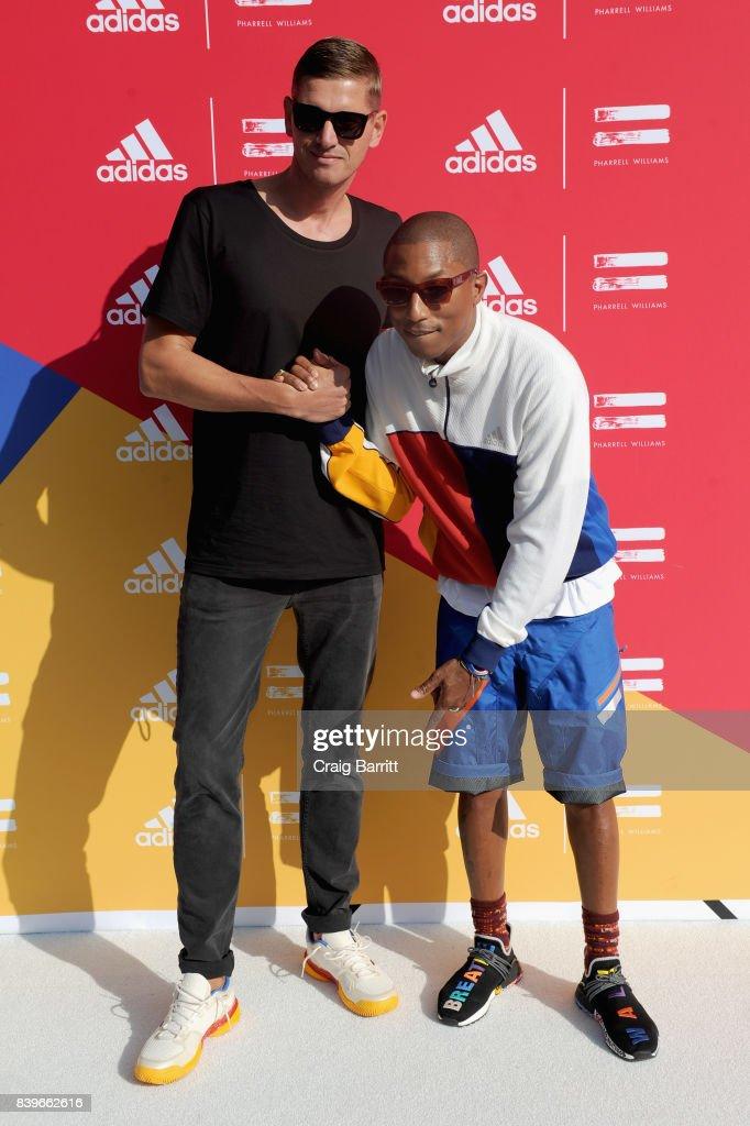 adidas tennis   pharrell williams silenzio evento e foto