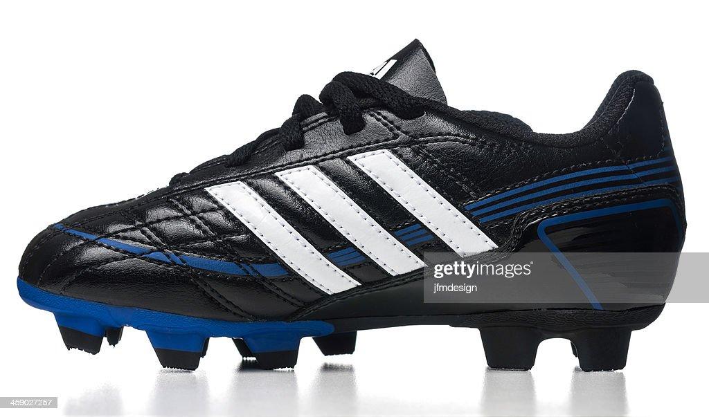 b7e0d6ddd Adidas Puntero soccer kid shoe   Stock Photo