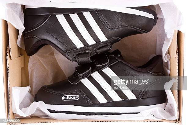 adidas shoes - sports footwear stock pictures, royalty-free photos & images