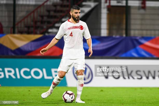 Adil Demirbag of Turkey during the International U21 Football Friendly match between France and Turkey on October 12 2018 in Rouen France