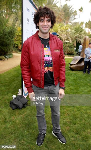 Adil El Arbi attends Variety's Creative Impact Awards and 10 Directors to Watch Brunch Red Carpet at the 29th Annual Palm Springs International Film...