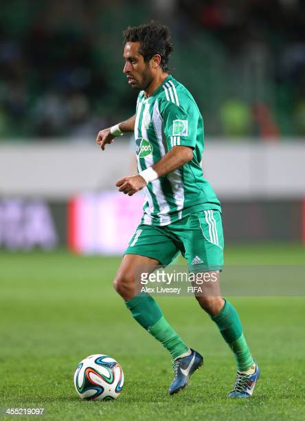 Adil Karrouchy of Raja Casablanca during the FIFA Club World Cup PlayOff for the Quarter Final match between Raja Casablanca and Auckland City FC at...