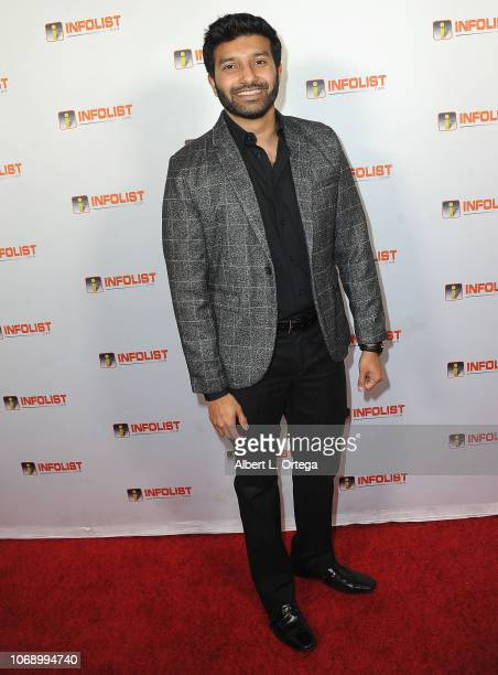 Adil Masood arrives for the INFOListcom Red Carpet ReLaunch Party And Holiday Extravaganza held at Mondrian Hotel on December 5 2018 in Los Angeles...
