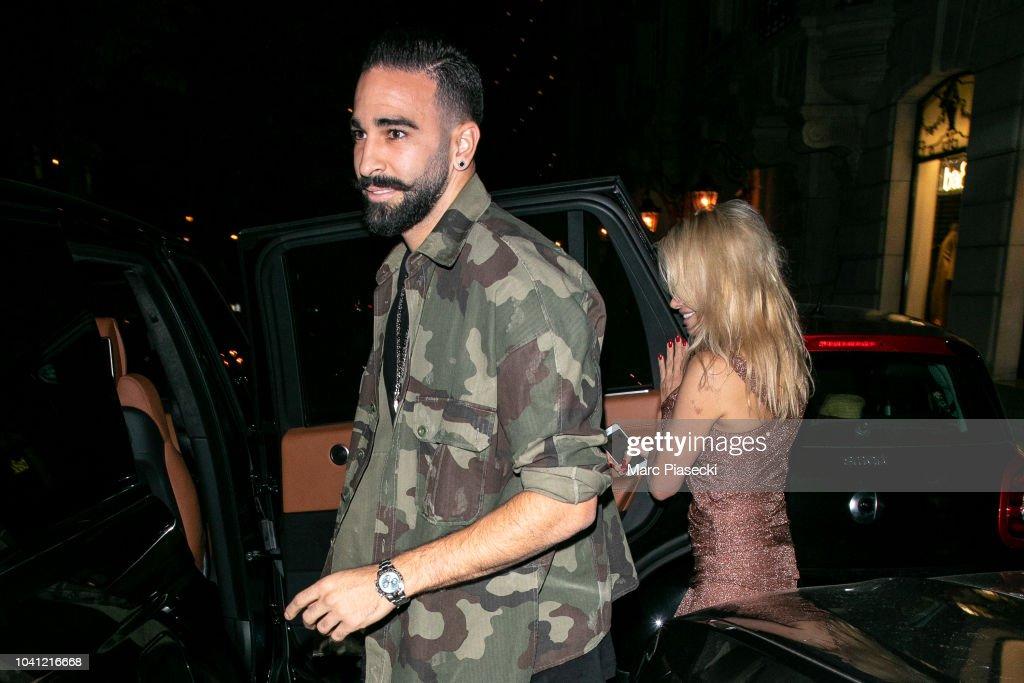 Celebrity Sightings In Paris - September 26, 2018 : Nyhetsfoto