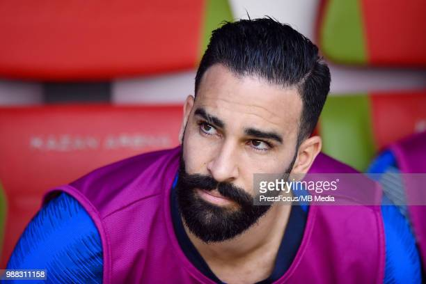 Adil Rami of France during the 2018 FIFA World Cup Russia Round of 16 match between France and Argentina at Kazan Arena on June 30 2018 in Kazan...