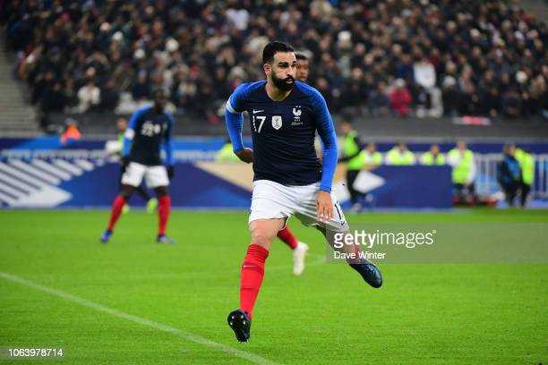 Adil Rami of France during the International Friendly match between France and Uruguay at Stade de France on November 20 2018 in Paris France