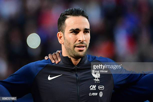 Adil Rami of France during the international friendly match between France and Scotland at Stade SaintSymphorien on June 4 2016 in Metz France