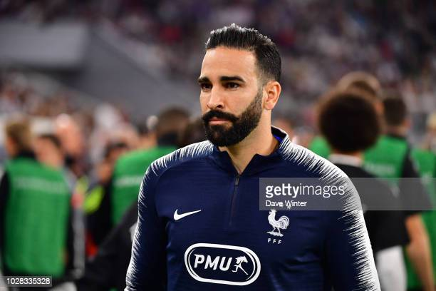 Adil Rami of France during the Nations League match between Germany and France at Allianz Arena on September 6 2018 in Munich Germany