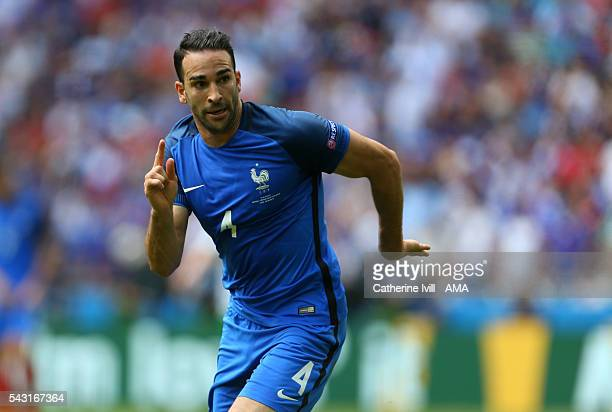 Adil Rami of France during the UEFA EURO 2016 Round of 16 match between France and Republic of Ireland at Stade des Lumieres on June 26 2016 in Lyon...