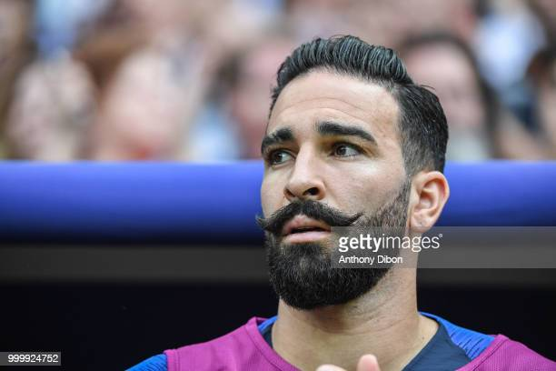 Adil Rami of France during the World Cup Final match between France and Croatia at Luzhniki Stadium on July 15 2018 in Moscow Russia